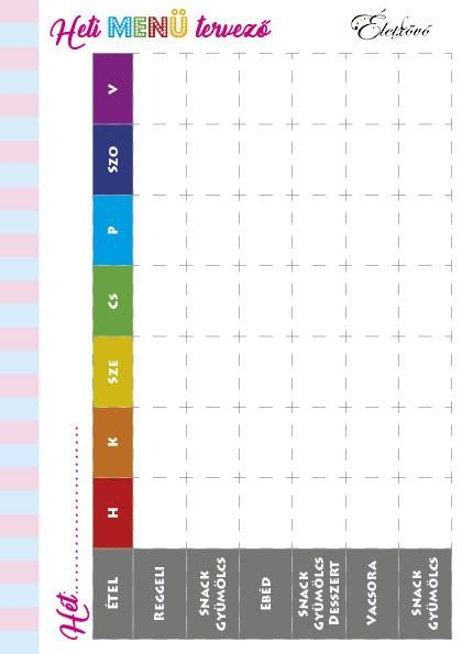 Kismama napló (letölthető)